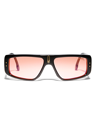 Slender rectangular sunglasses