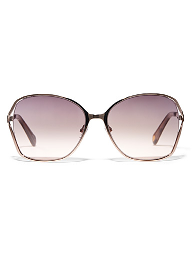 Mae rectangular sunglasses