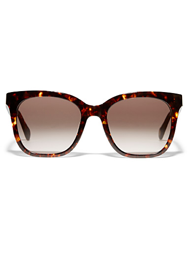Elie square sunglasses