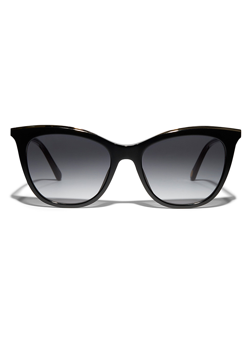 Butterfly and cat-eye sunglasses
