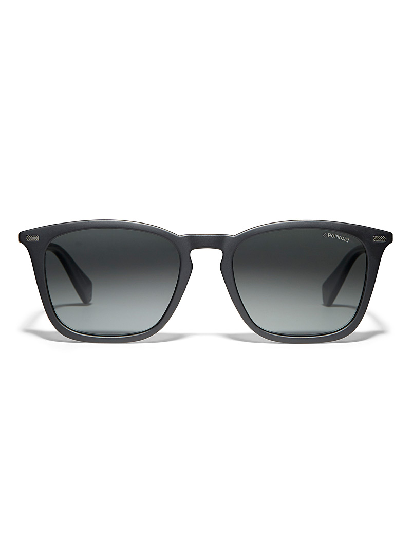 Polaroid Black Matte sunglasses for men