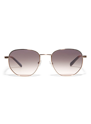 Fossil Assorted Leland round sunglasses for women