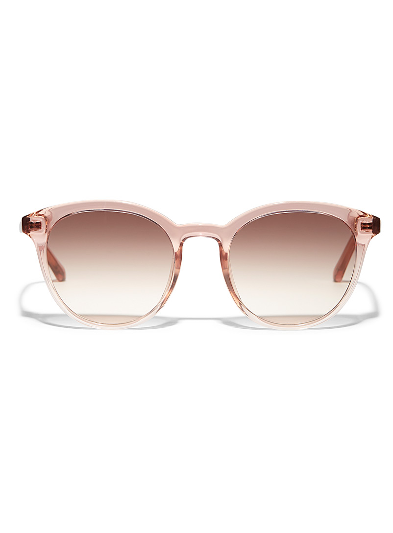 Fossil Pink Jilian round sunglasses for women