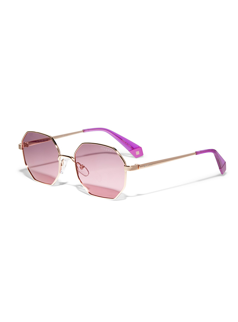 Polaroid Assorted Tinted octagonal sunglasses for women