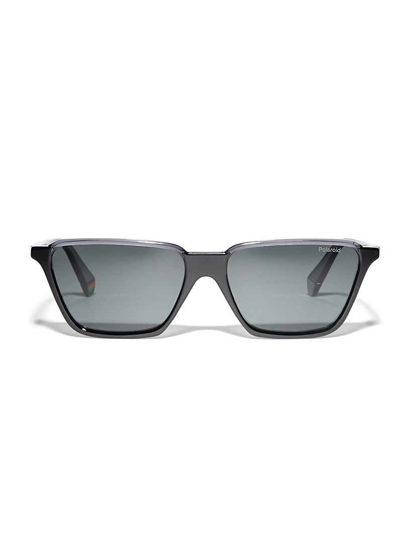 Polaroid Black Polaroid rectangular sunglasses for women