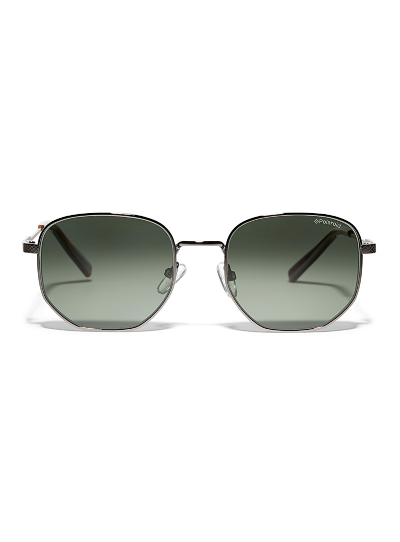 Rounded square sunglasses - Square - Grey