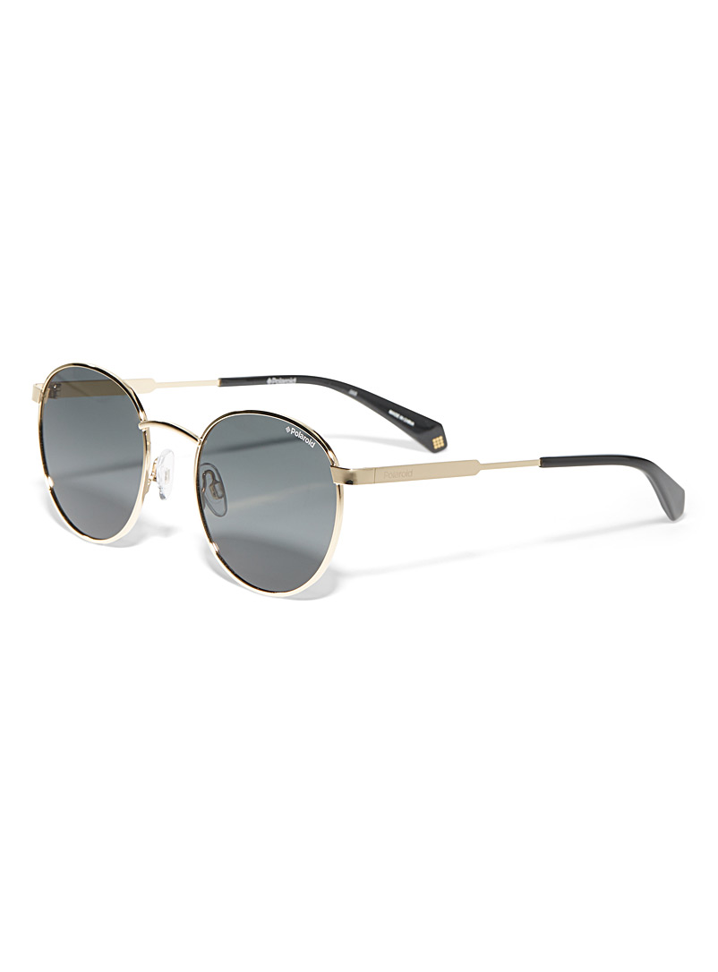Polaroid Assorted Round metallic-frame sunglasses for women