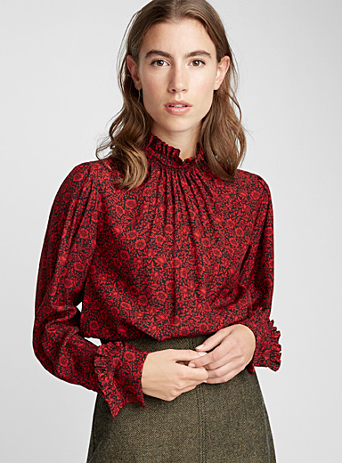 Poetic blouse