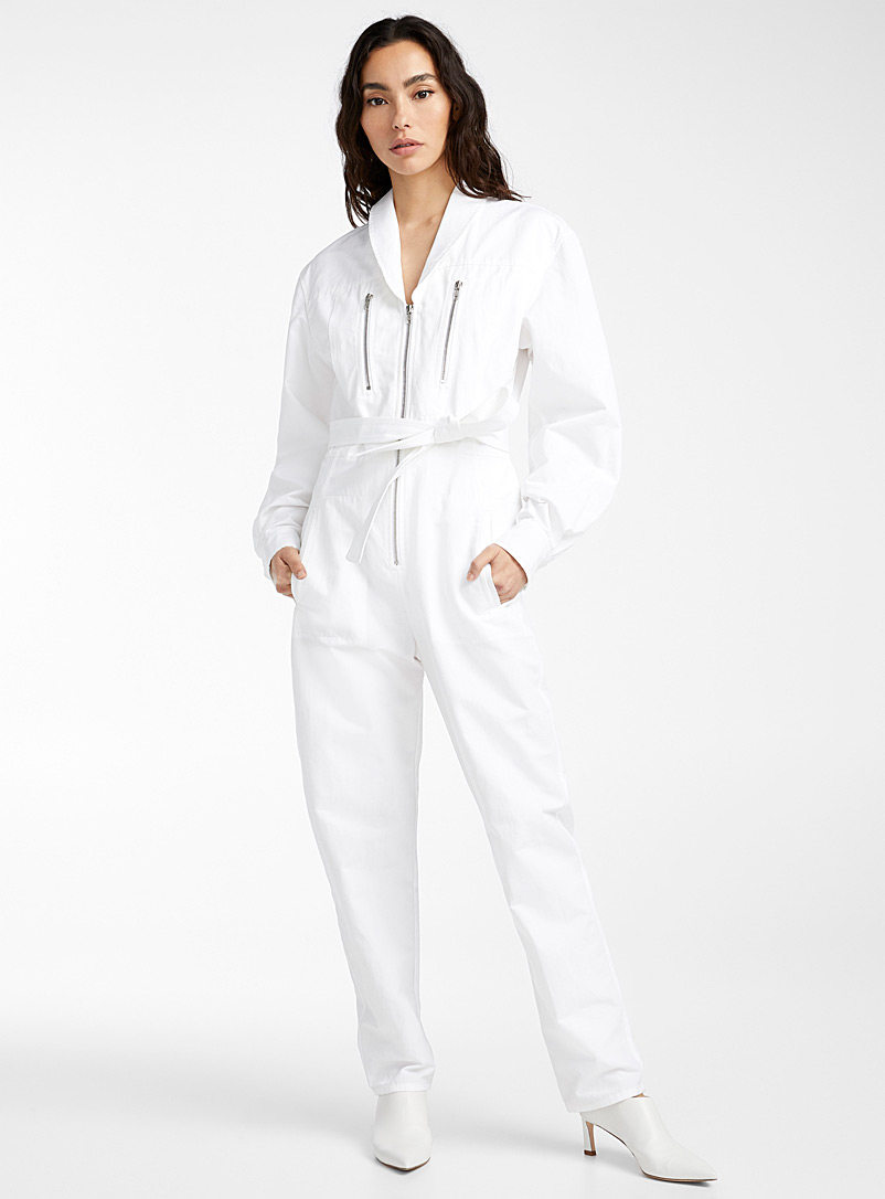 Philosophy White Immaculate jumpsuit for women