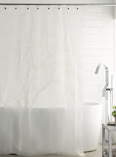 Tree vinyl shower curtain