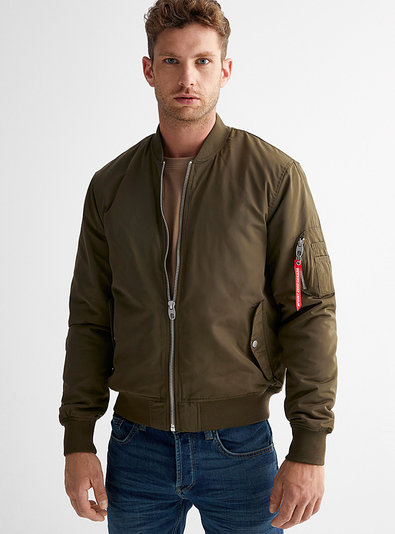Point Zero Khaki Authentic bomber jacket for men