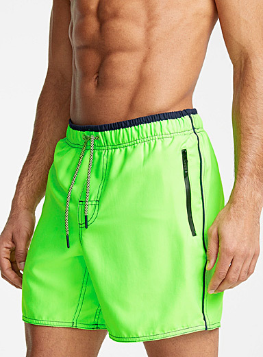 Soft colourful swim trunk