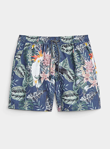 Jungle bird swim trunk
