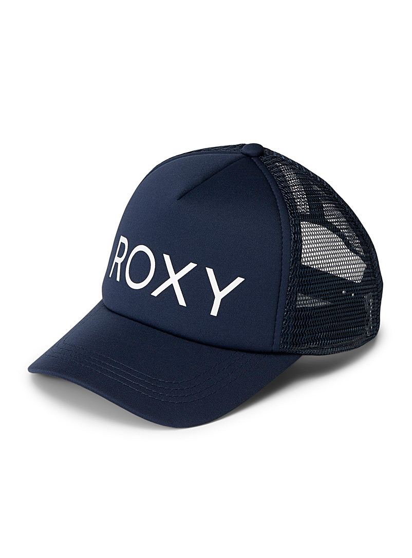 Roxy Marine Blue Soulrocker trucker cap for women