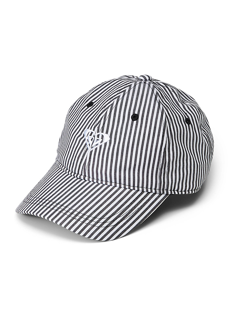 Roxy Patterned Black Believe In Magic baseball cap for women