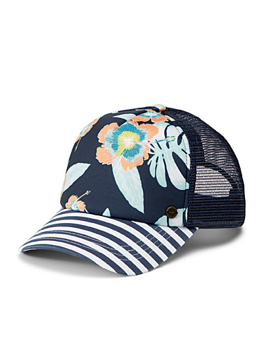 Exotic flora trucker cap
