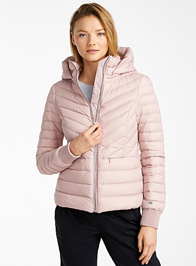 Chalee slim-fit down puffer jacket