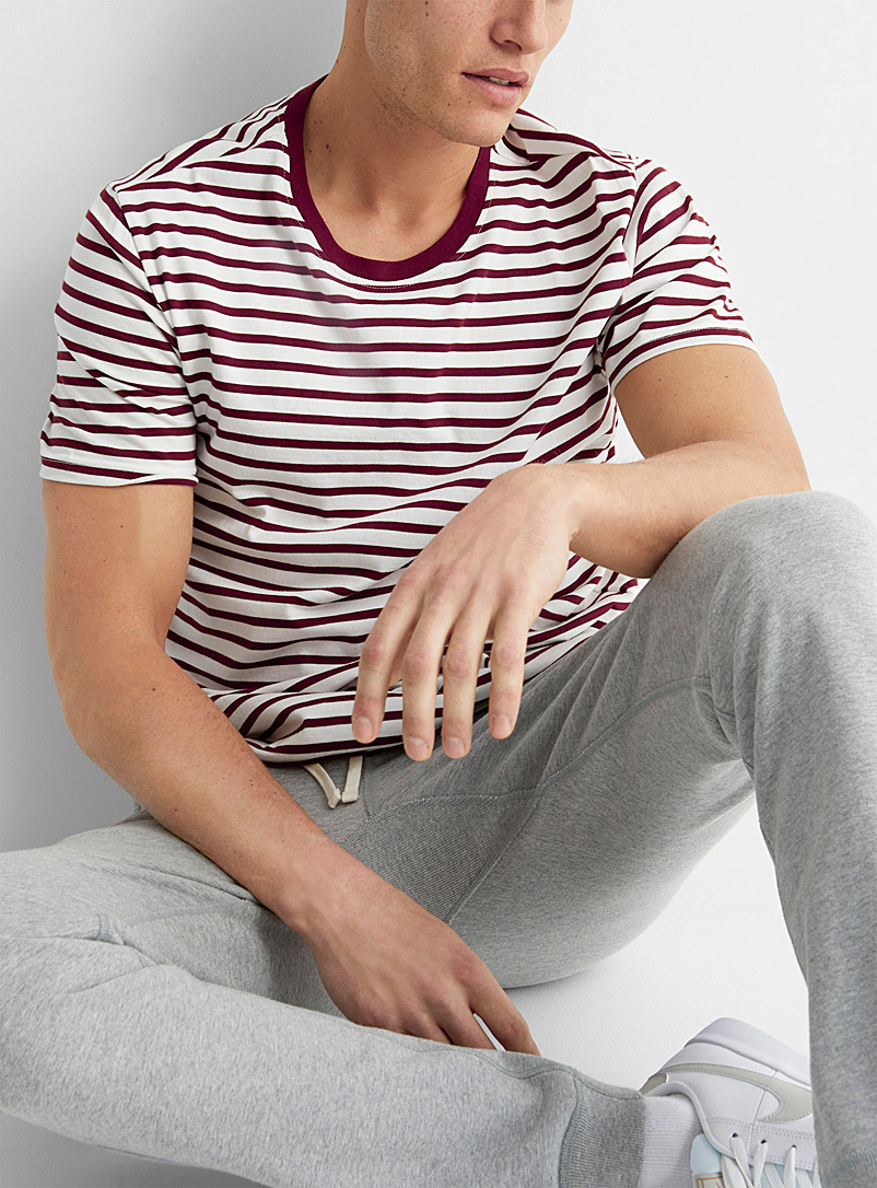 Twin-stripe T-shirt