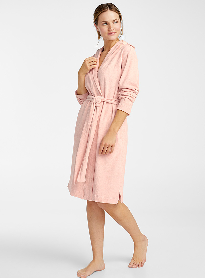 Organic cotton short robe