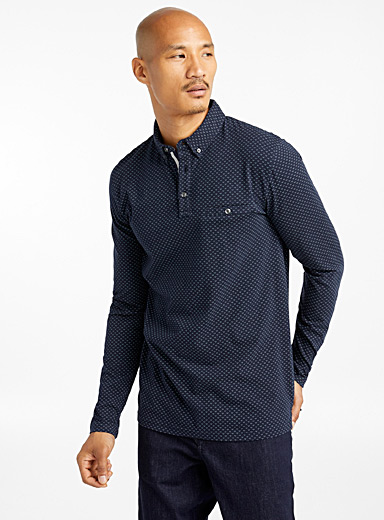 Mini pattern polo