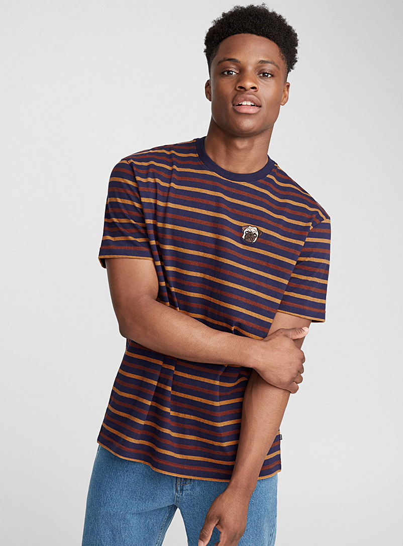 emblem-stripe-t-shirt