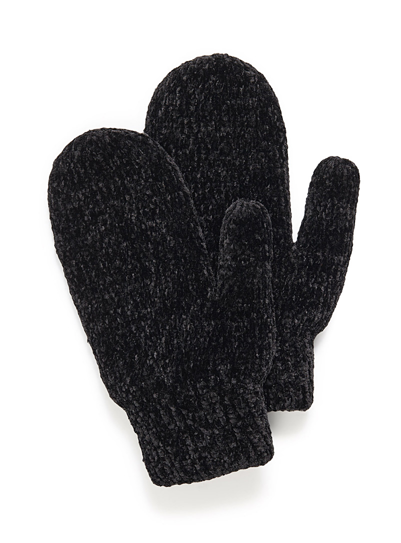 chenille-knit-mittens
