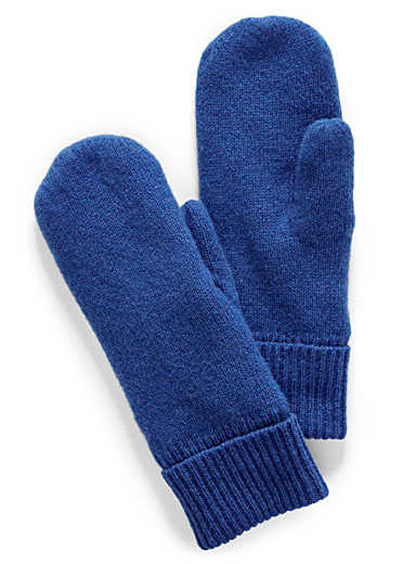 Brightly coloured mittens