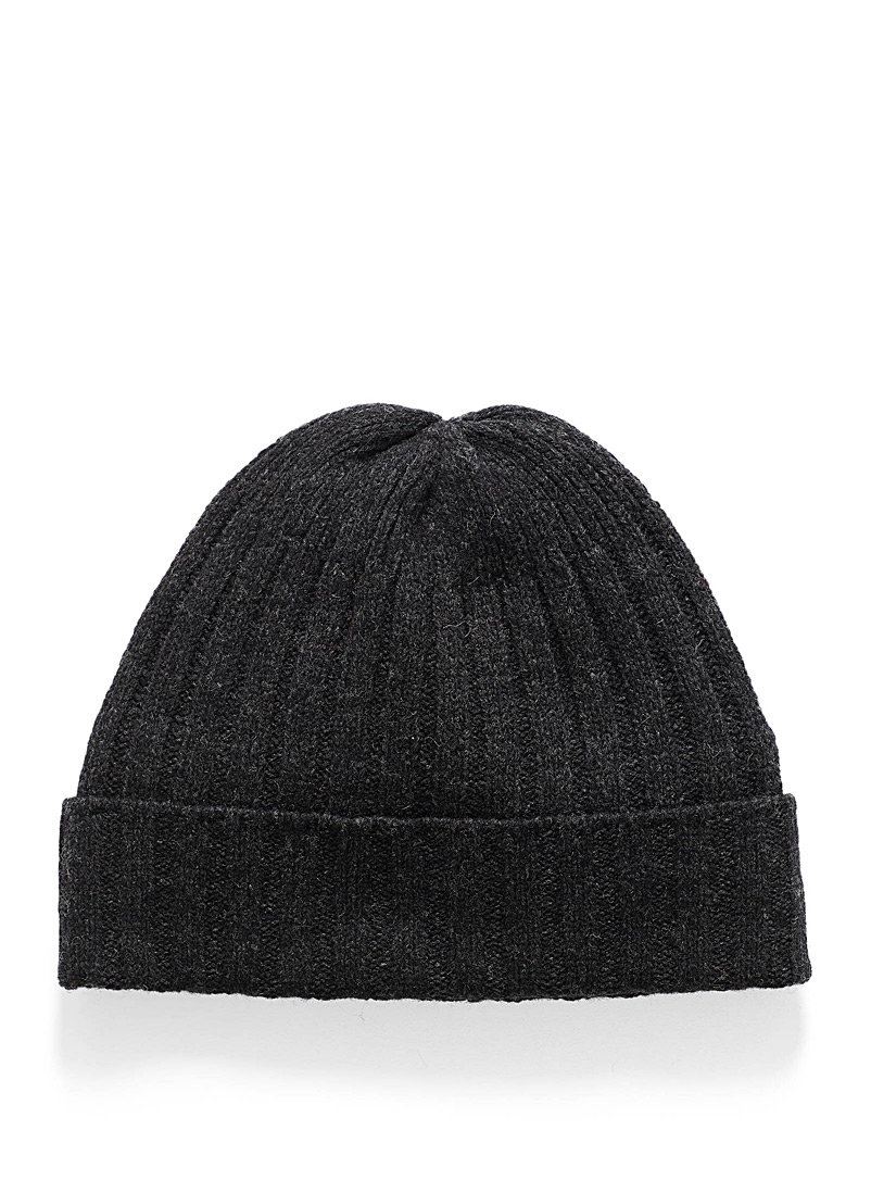 Le 31 Oxford Pure wool knit tuque for men