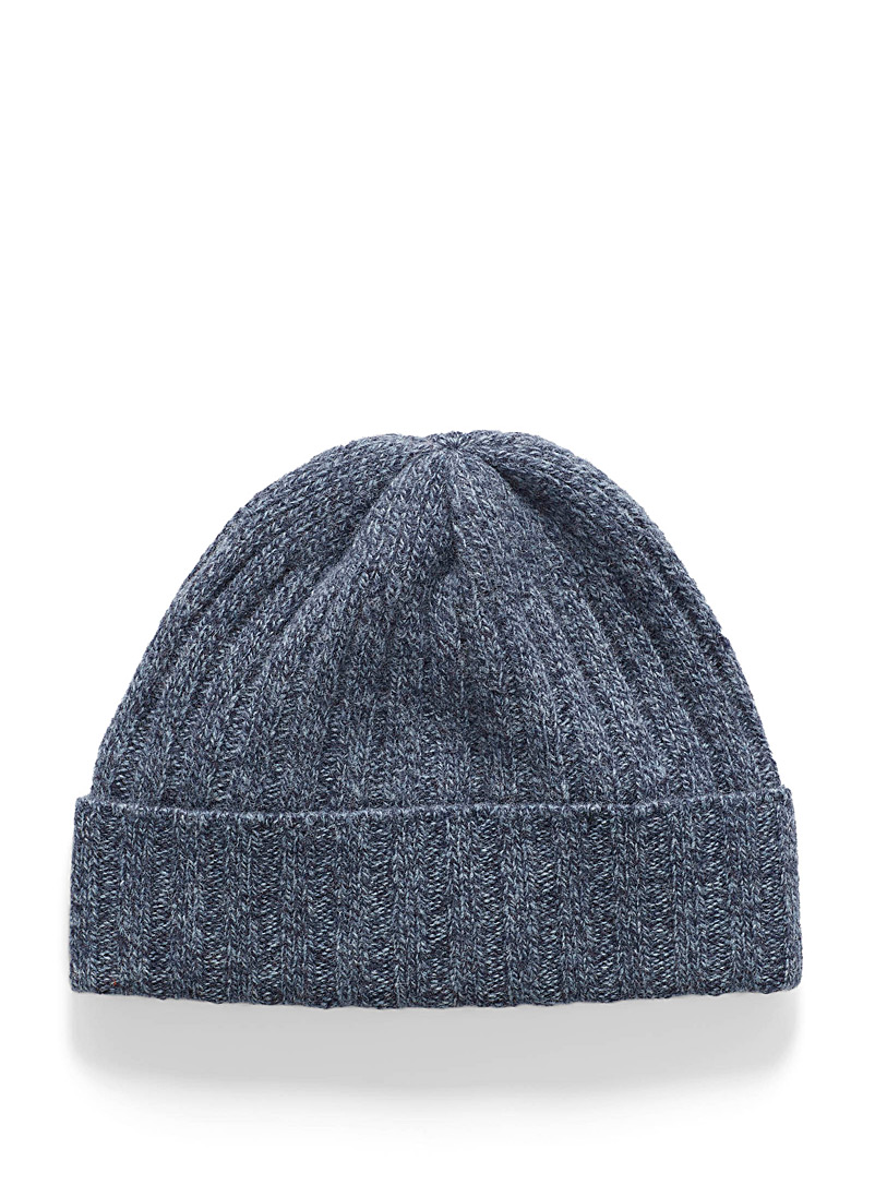 Pure wool knit tuque