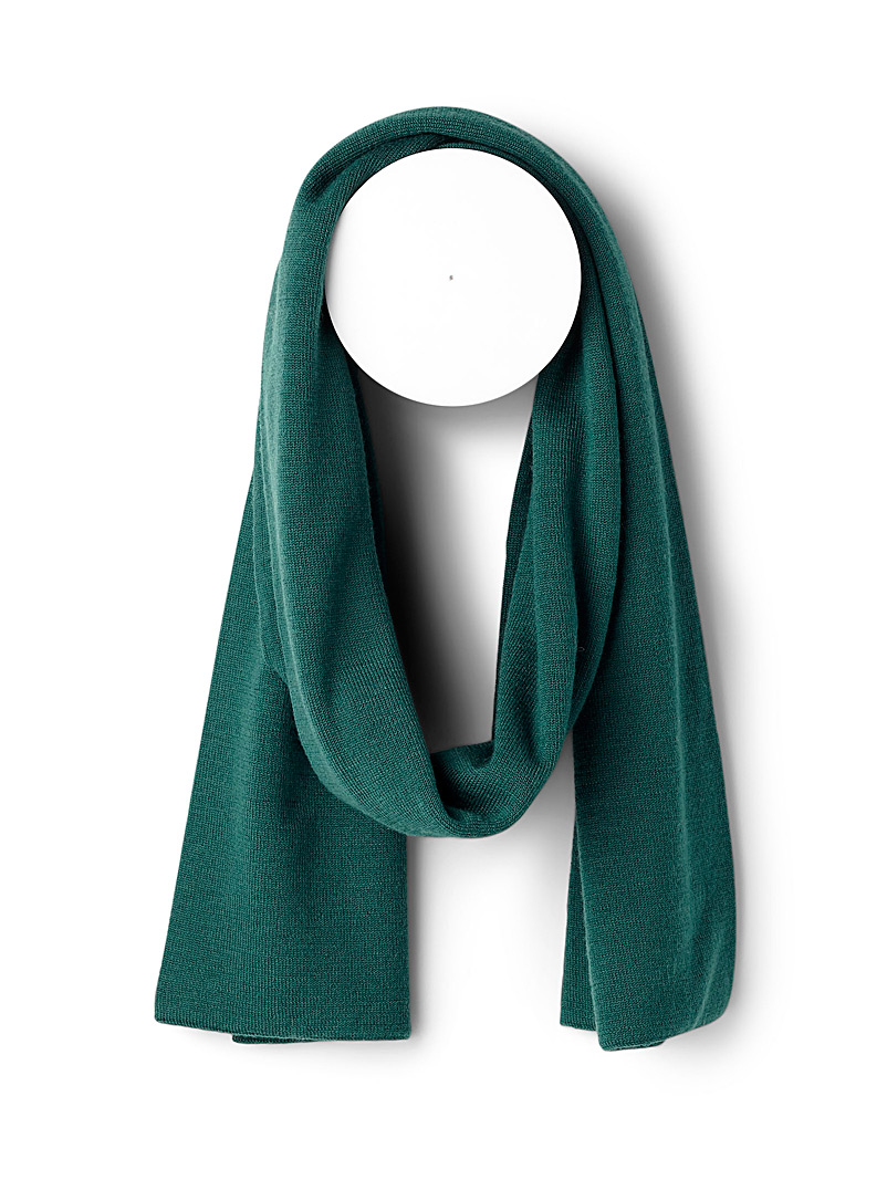 Merino scarf - Outdoor scarves - Mossy Green