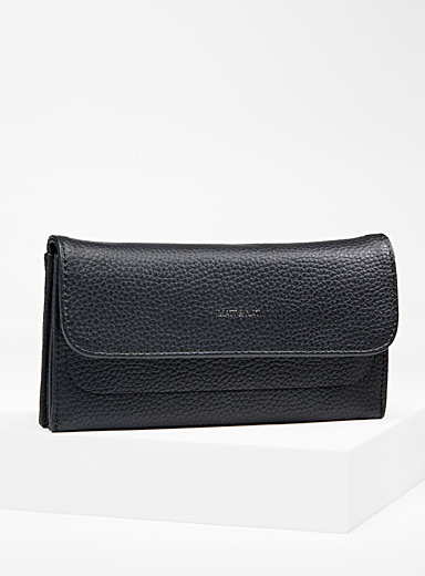 Matt & Nat Black Niki PURITY wallet for women