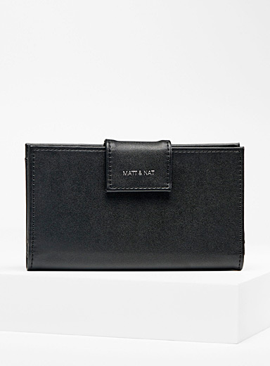 Matt & Nat Black Cruise wallet for women