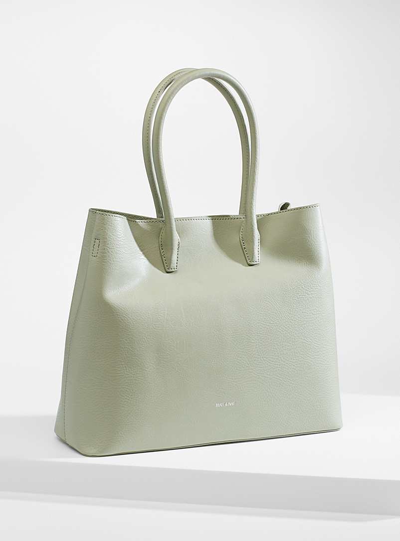 Matt & Nat Lime Green Krista tote for women