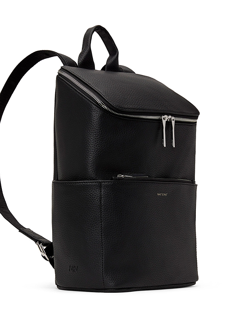 Matt & Nat Black Brave PURITY backpack for women