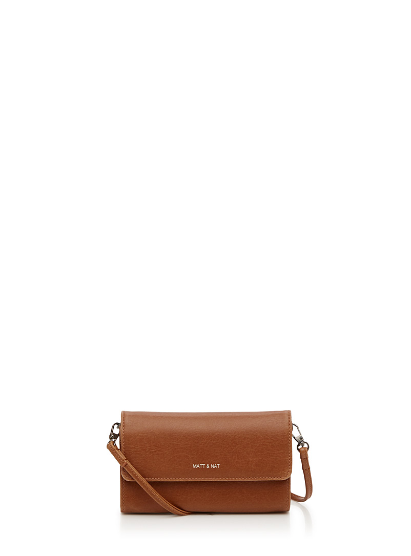 Drew mini clutch - Clutches and Minaudieres - Brown