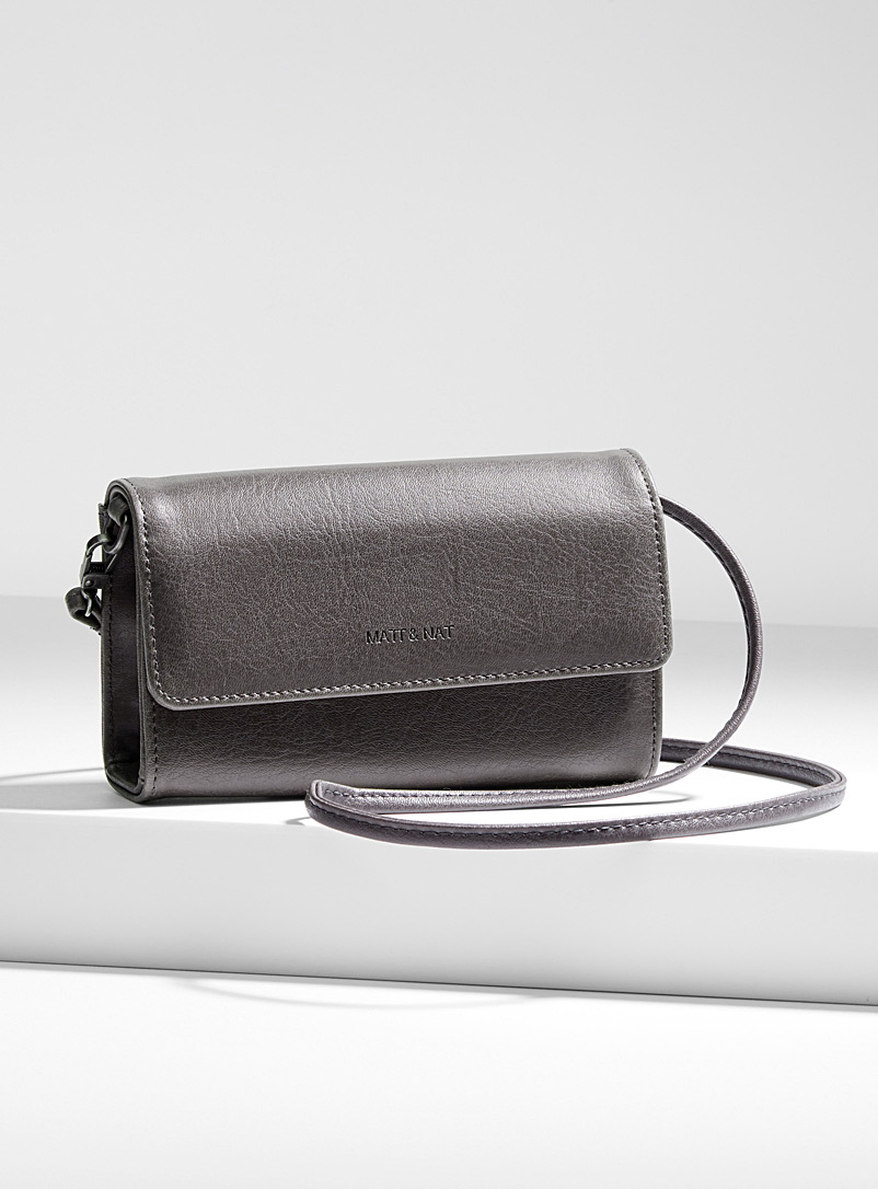 Drew mini clutch - Clutches and Minaudieres - Grey