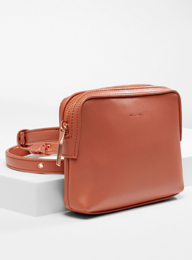 Matt & Nat Medium Orange Paris belt bag for women