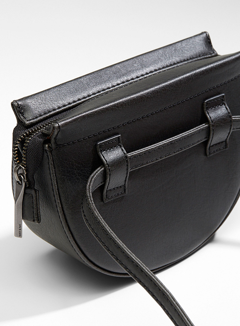 Matt & Nat Black Abbot belt bag for women