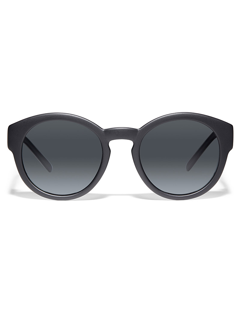 Matt & Nat Black Yan polarized sunglasses for men