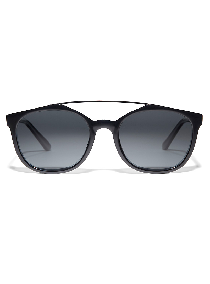 Matt & Nat Black Nesson polarized sunglasses for men