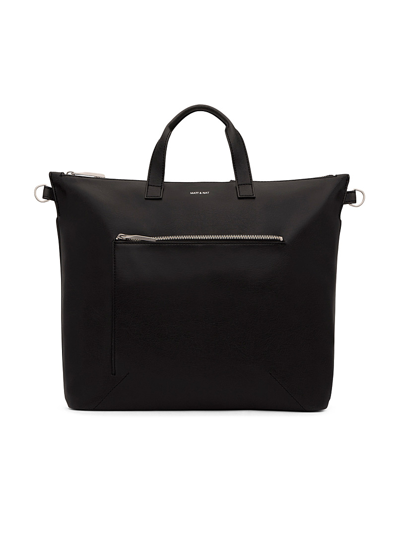 Matt & Nat Black Rony tote for men