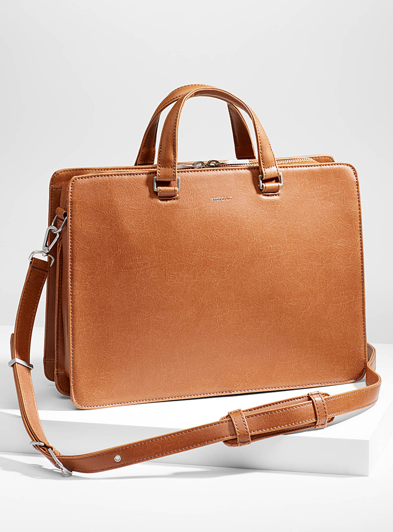 David case - Messenger Bags & Briefcases - Fawn