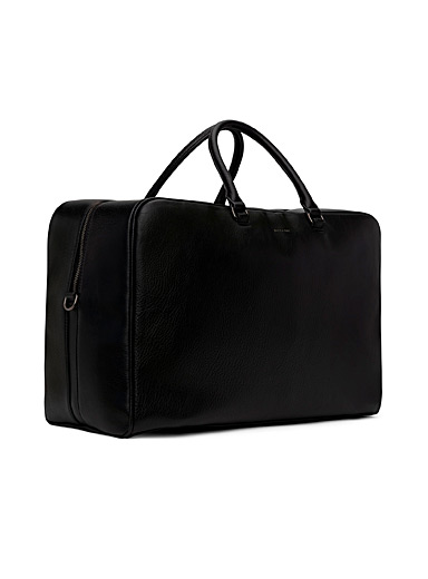 Matt & Nat Black Cast weekend bag for men
