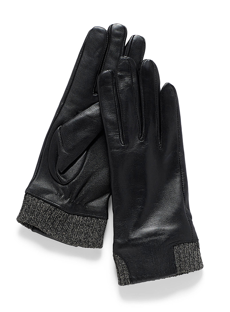 f2046473ee8e1 Shop Women's Suede & Leather Gloves & Mittens in Canada   Simons