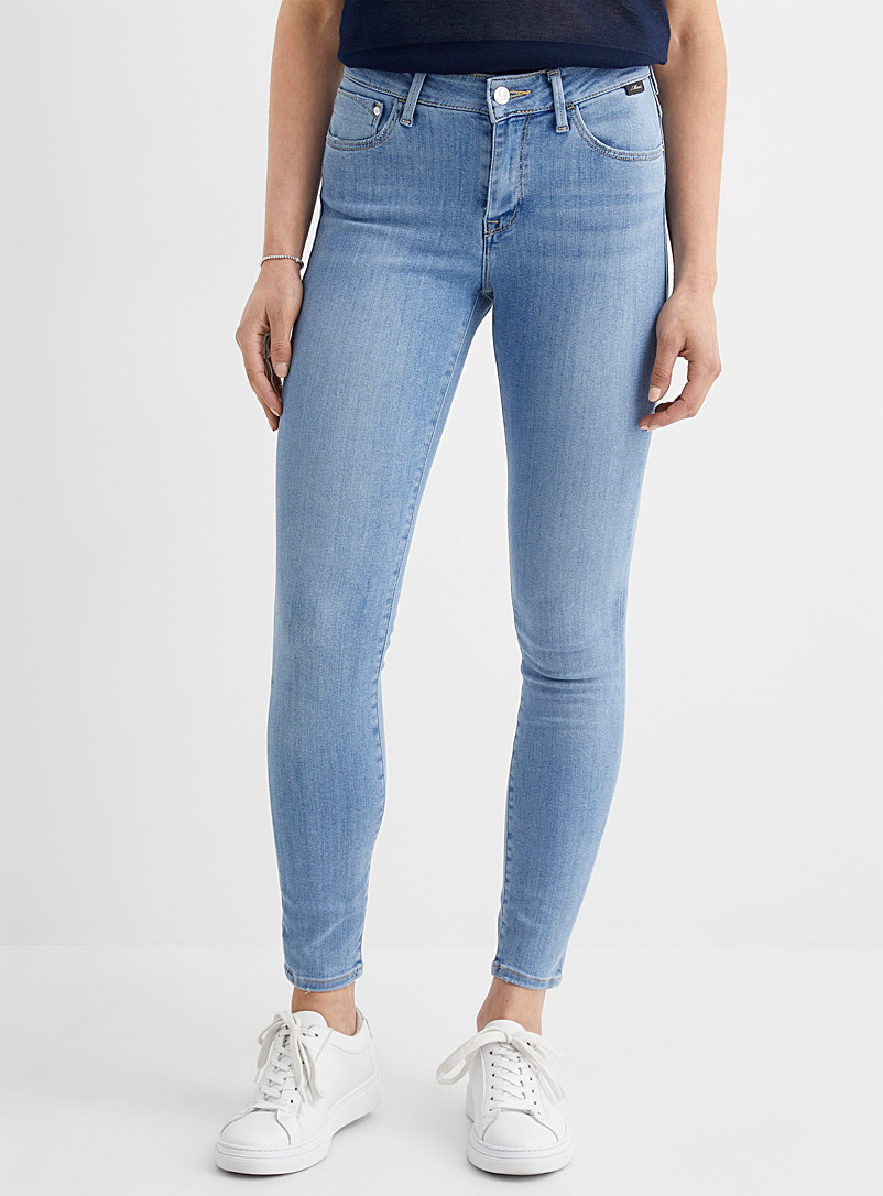 Mavi Jeans Blue Faded Tess skinny jean for women