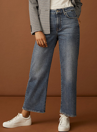 Le jeans large court Romee