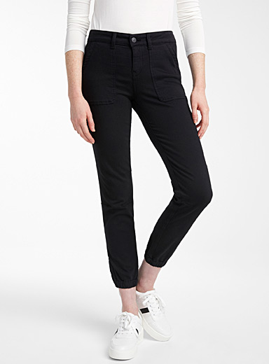 Mavi Jeans Black Ivy black cargo jean for women