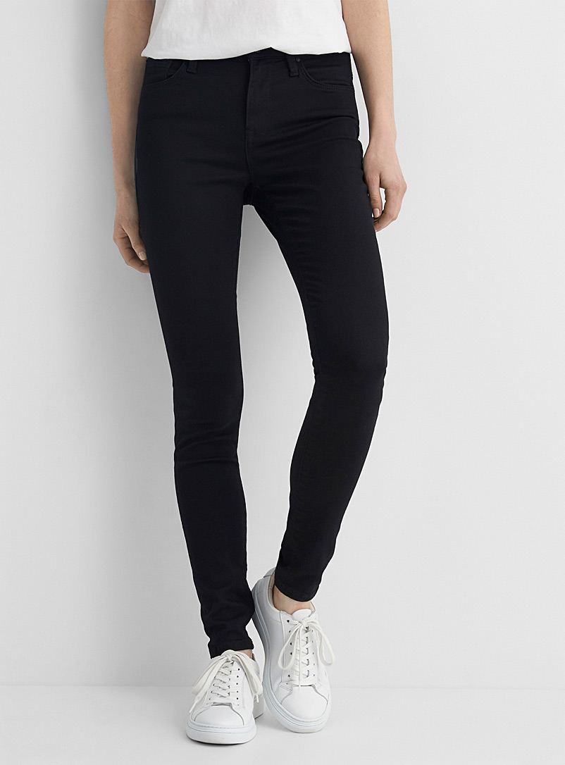 Mavi Jeans Black Black Alissa super skinny jean for women