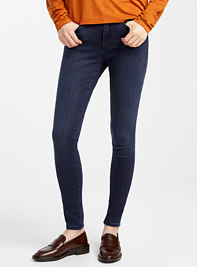 Le jeans skinny taille haute Alissa