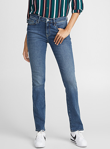 Blue Kendra high-rise jean
